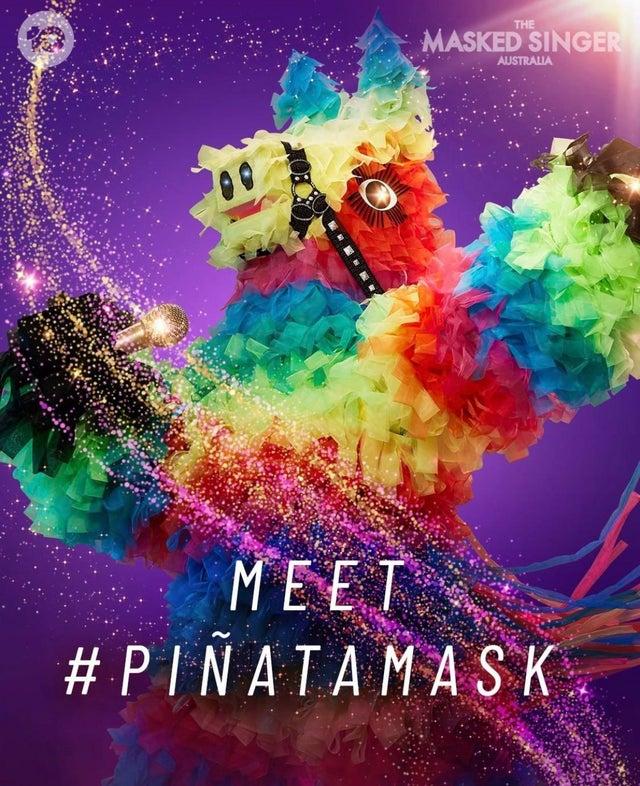 Meet the Piñata: TheMaskedSinger