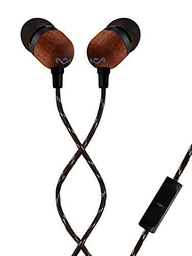 House of Marley Smile Jamaica EM-JE041-SB in-Ear Earphones with Mic