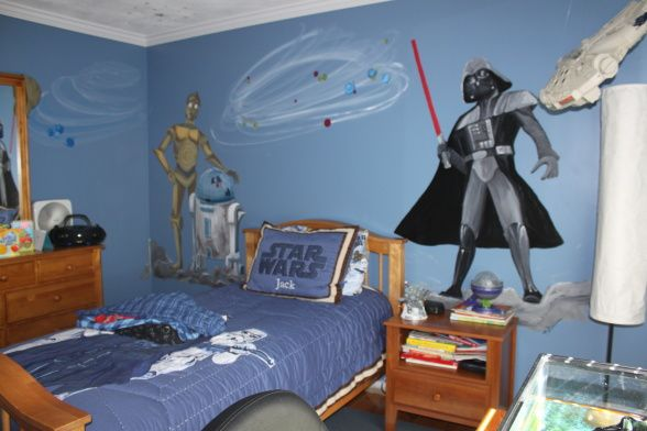Adorn the Room With Star Wars Merchandise