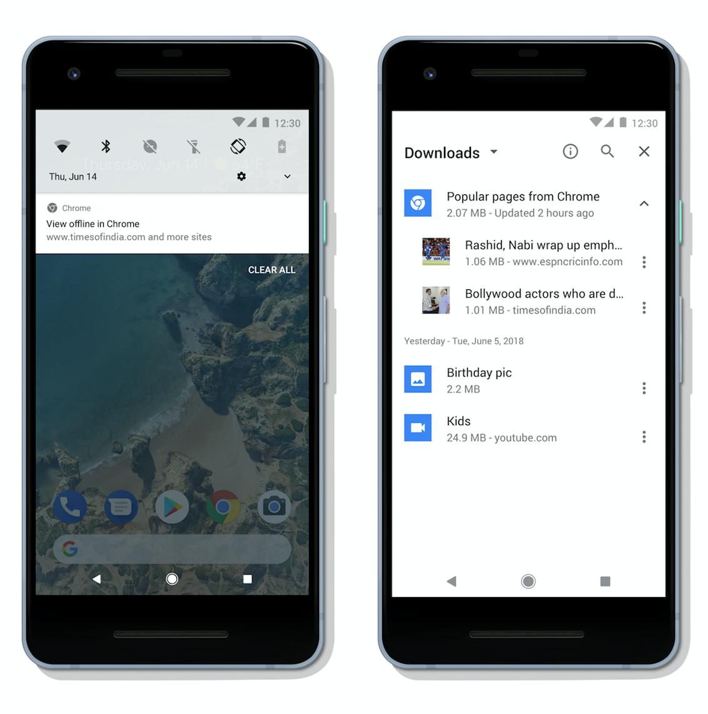 Google Chrome para Android agora pode armazenar artigos em cache 1