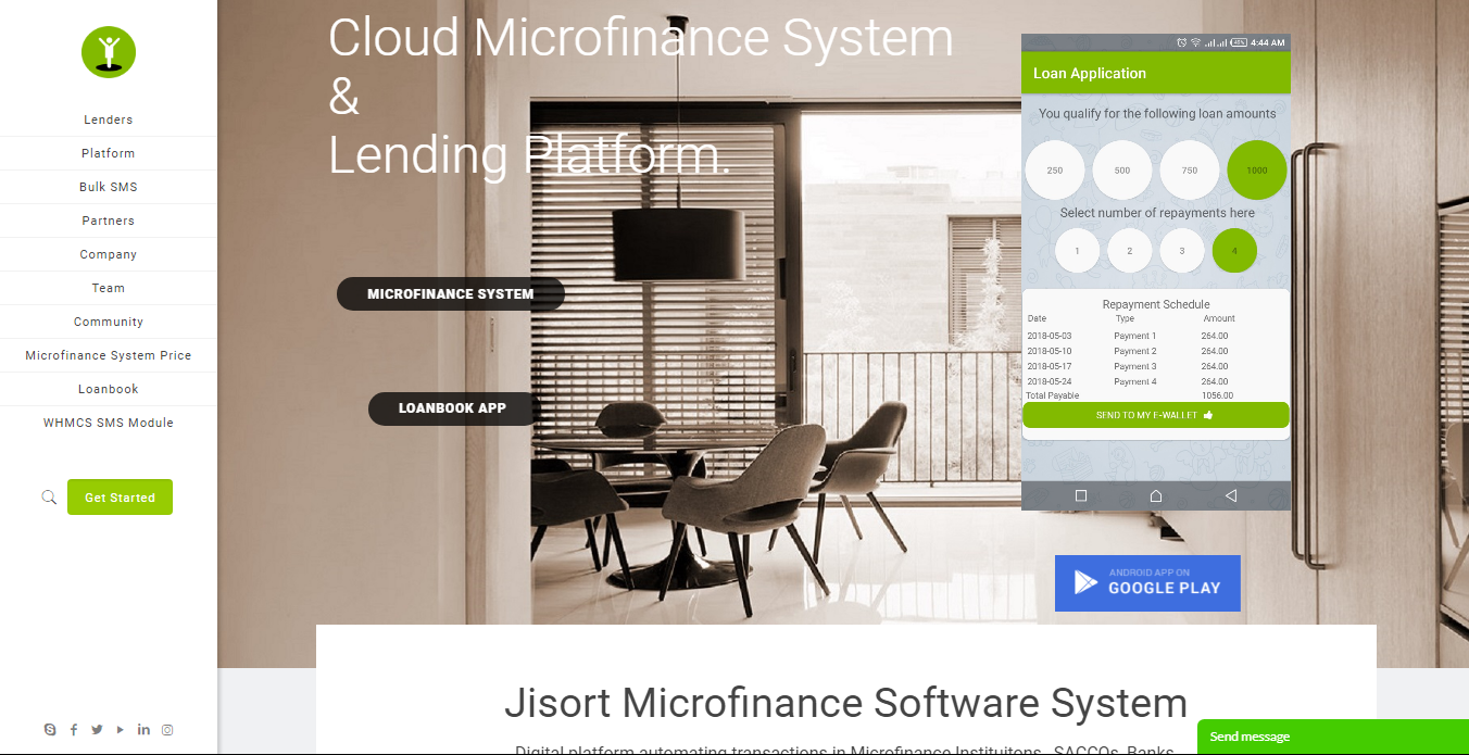 Loan business ideas in Kenya: Jisort Homepage