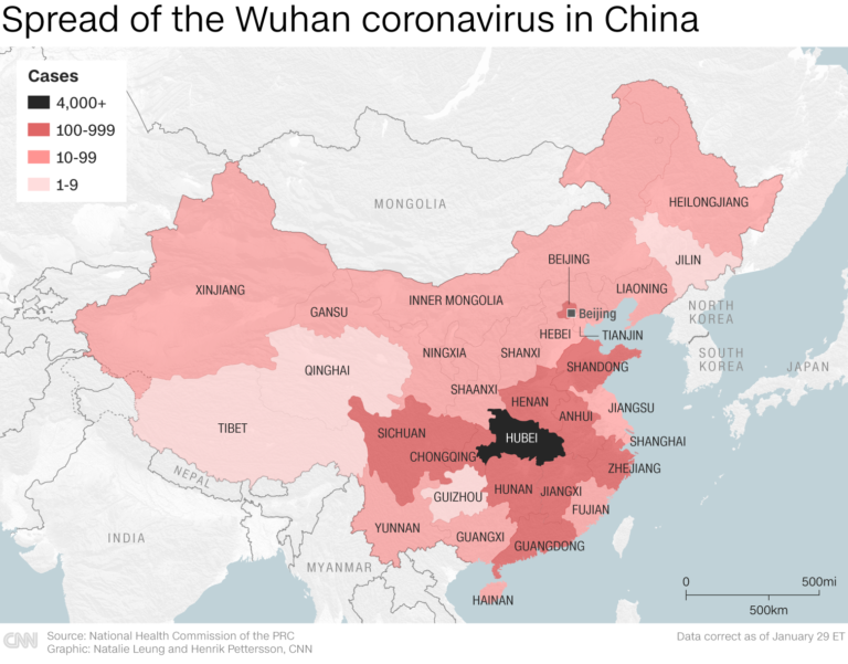 Coronavirus in China latest updates