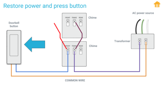 Nest O Wiring With Two Chimes, Doorbell Wiring Diagram Two Chimes