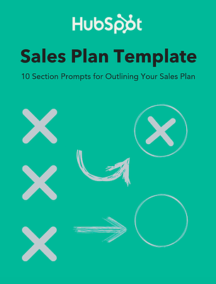 HubSpot's Sales Plan Template