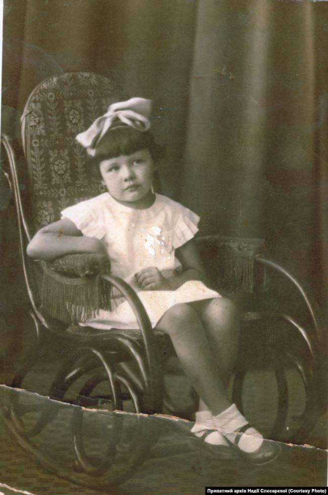 Надія, 1930-і роки. Джерело: Приватний архів Надії Слєсарєвої