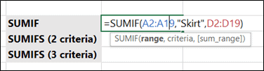 You can replace Criteria Reference to its text name in quote marks