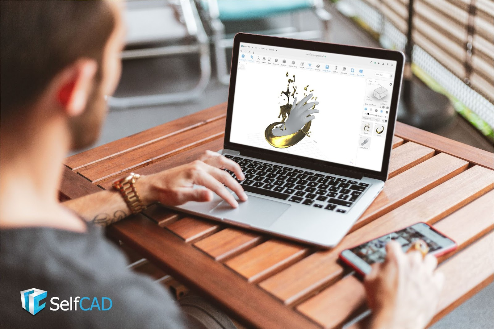Generate revenue as a freelance 3D designer