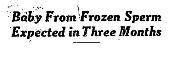 Заголовок в Times того времени