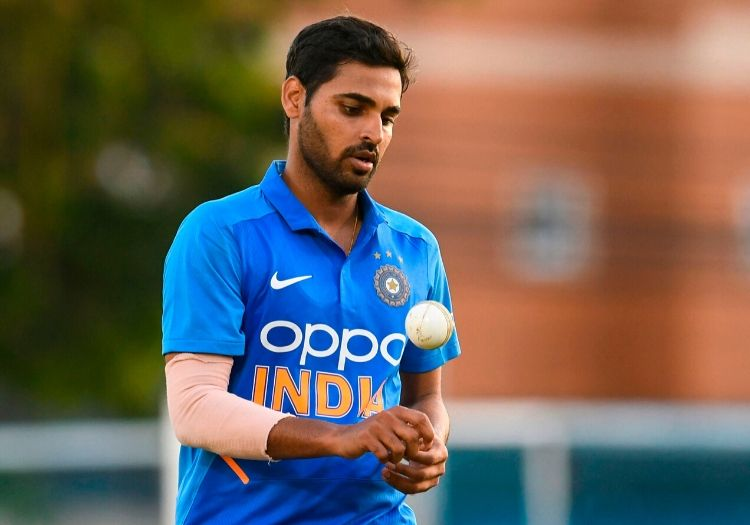 ICC nominates Bhuvneshwar for the ICC player of the Month award