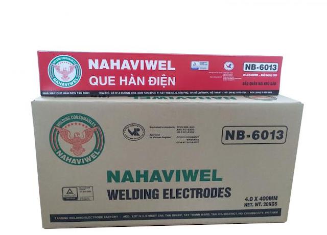 NAHAVIWEL cung cấp quy trình sản xuất que hàn nb-6013 chuyên nghiệp