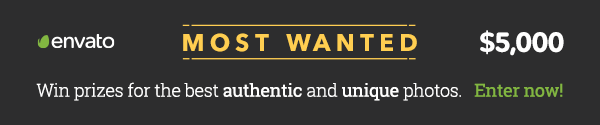 Envato Unstock Most Wanted banner advertisement