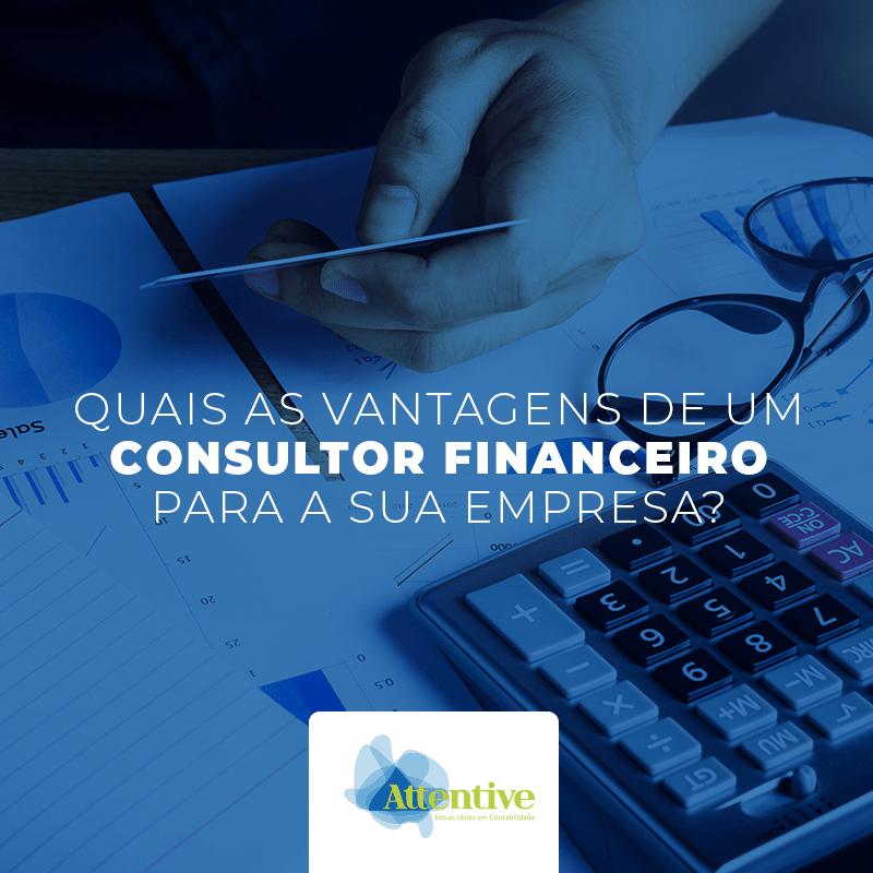 vantagens de um consultor financeiro