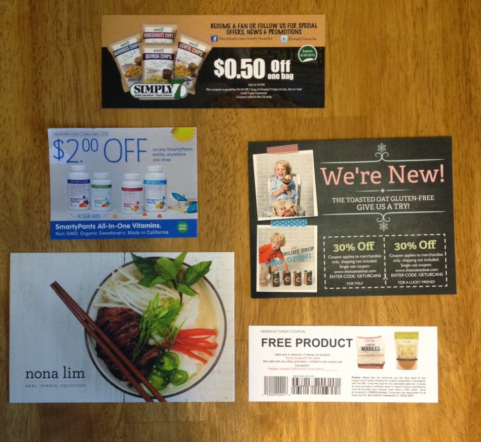December Send Me Gluten Free box coupons