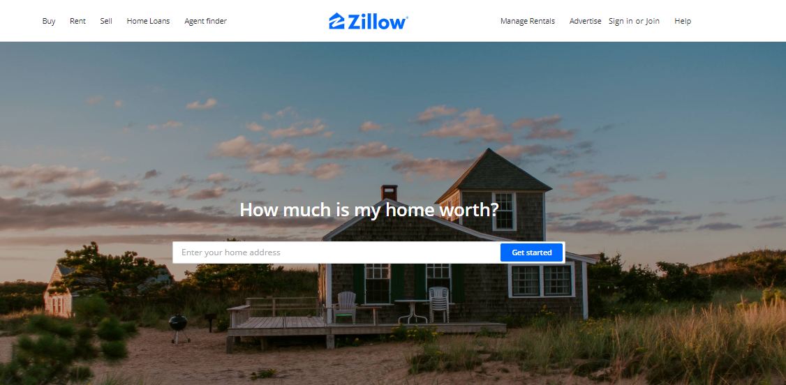 How to build a real estate website: Zillow Property Value Estimation