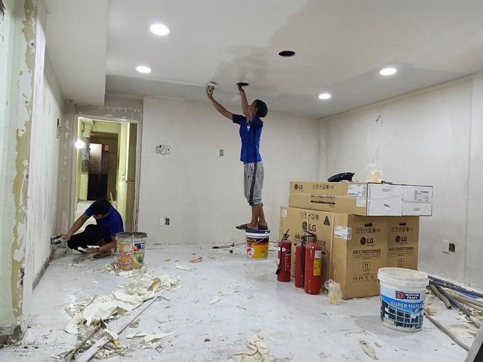 Báo giá sơn lại nhà