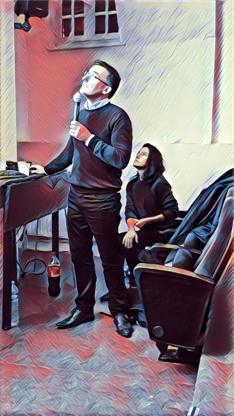 Marriam Chammat et Richard Bordenave