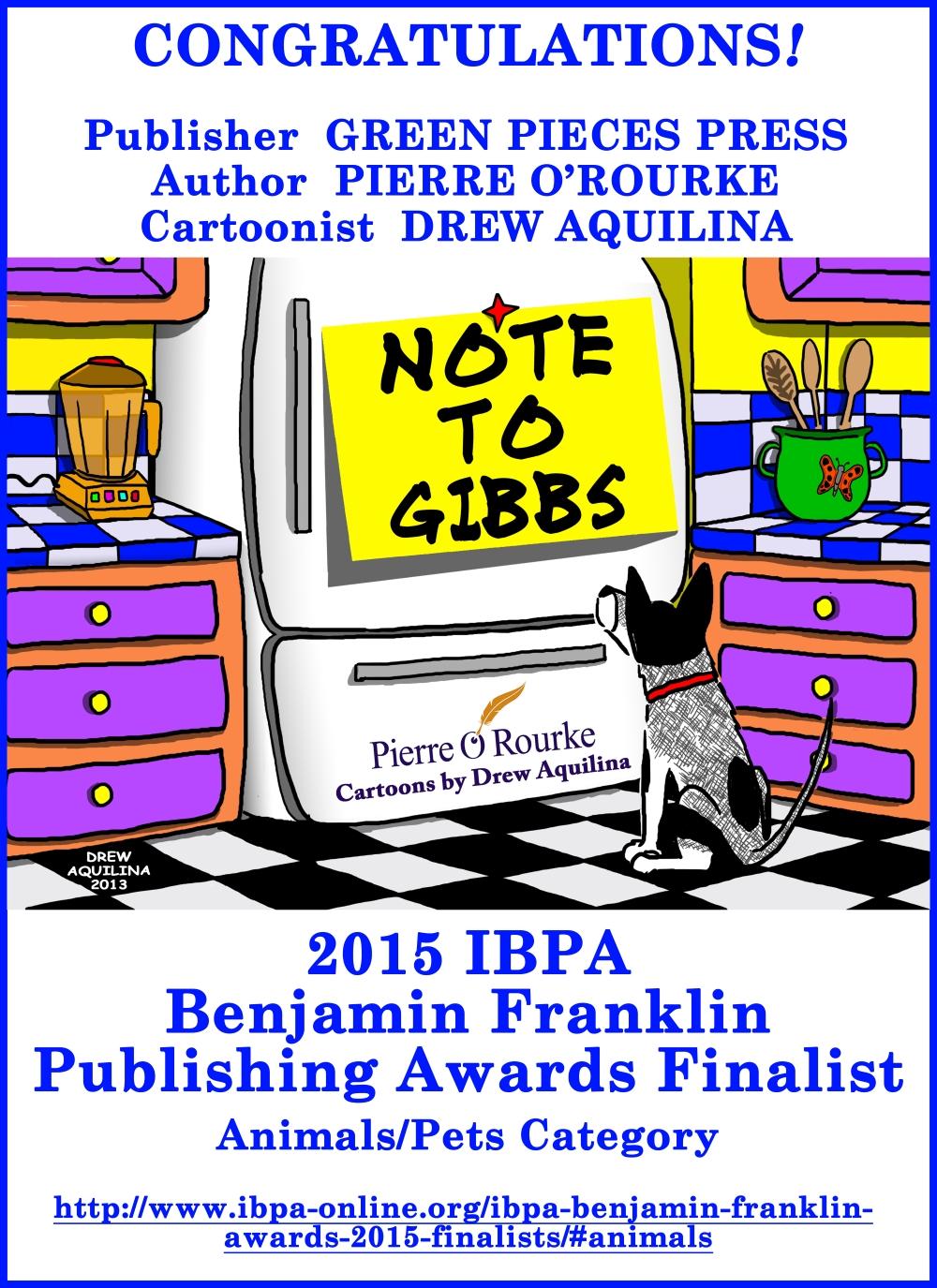 Note To Gibbs 2015 IBPA Benjamin Franklin Award Announcement web edition.jpg