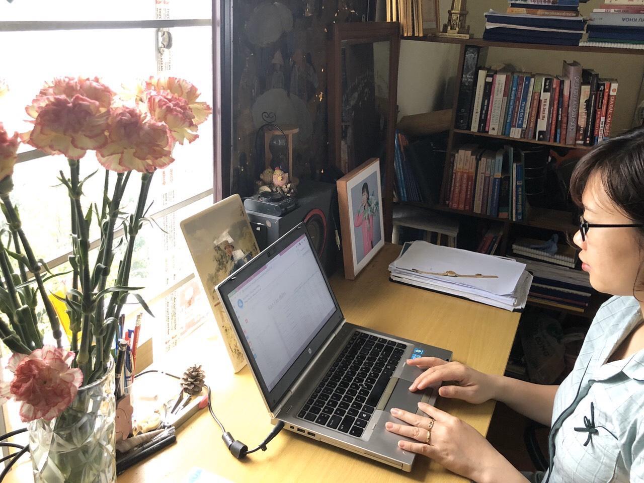 Triển khai học trực tuyến trong thời gian nghỉ dịch Covid-19 của Phân hiệu