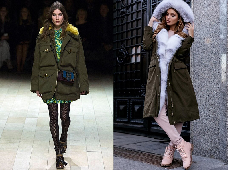 Различия между парками и куртками