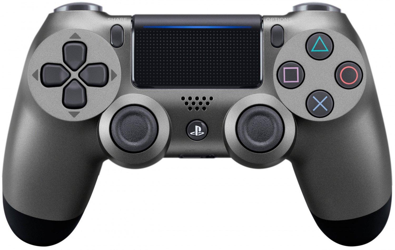 Беспроводной геймпад SONY Dualshock 4 V2 Steel Black для PS4 (9357179)