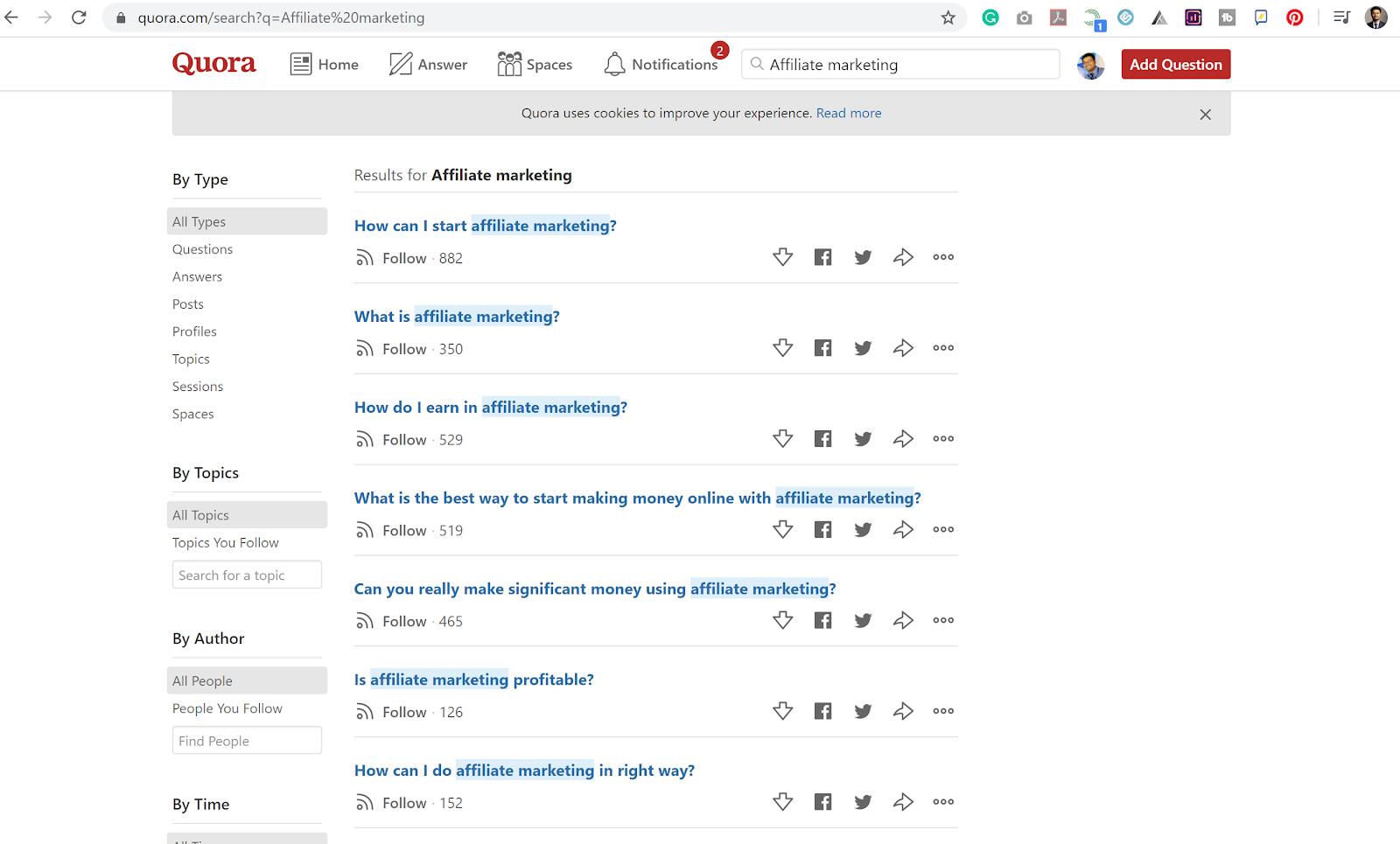 Blog Post Content Ideas - Quora