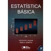Livros Estatística Básica - 8ª Ed. 2013 - Pedro Alberto Morettin, Wilton de Oliveira Bussab (8502207997)