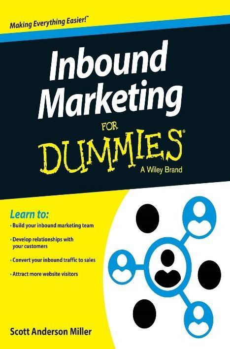 Imagen que contiene portada de libro Inbound Marketing for Dummies