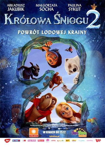 Przód ulotki filmu 'Królowa Śniegu 2'