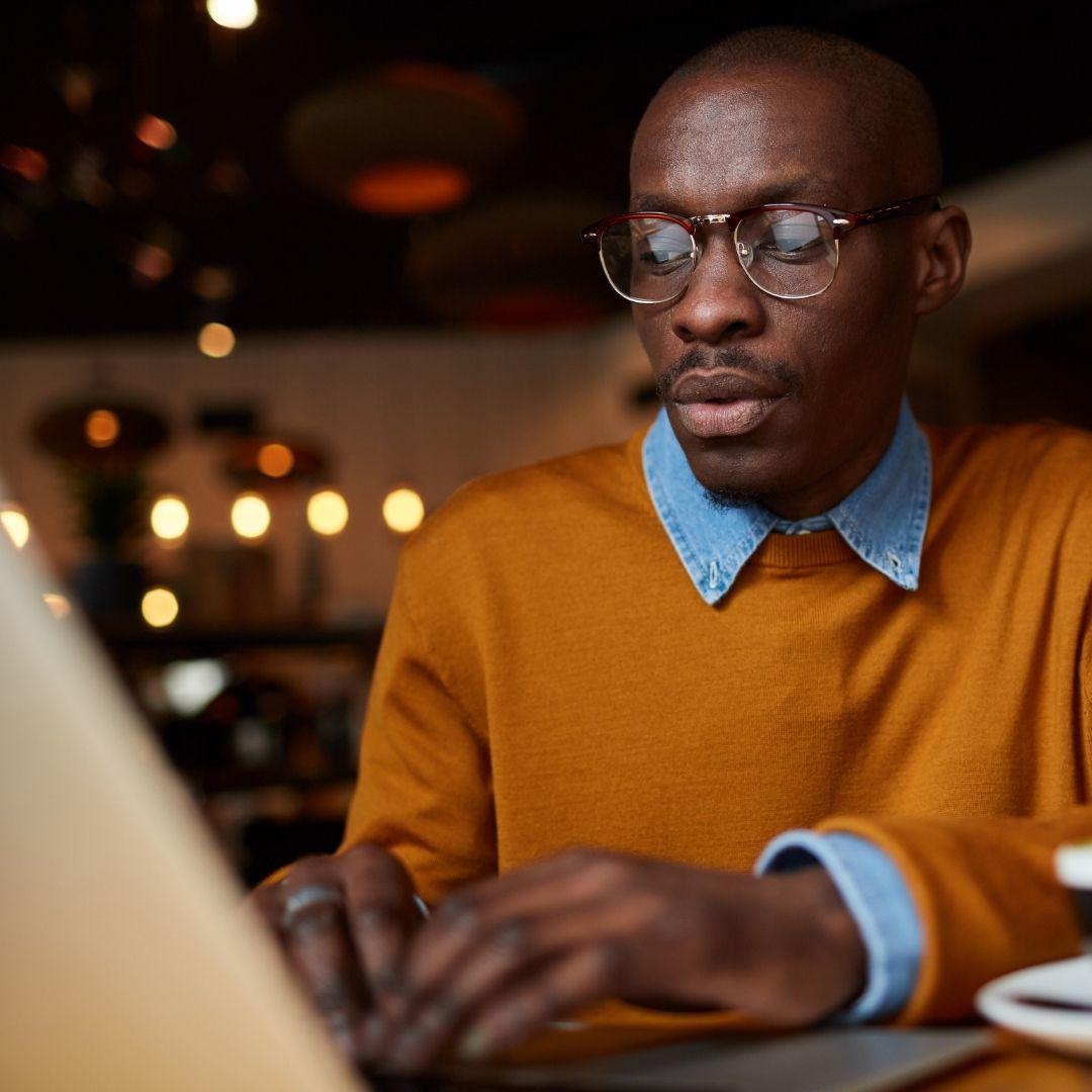 Black man just started blogging.