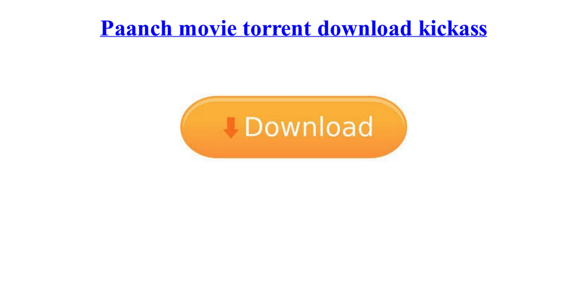 paanch movie torrent download kickass
