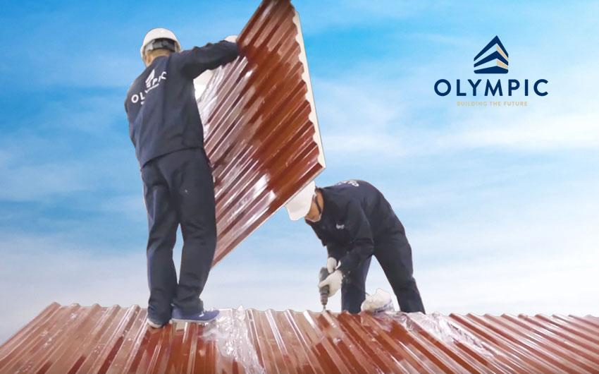 Tôn Olympic - bảo vệ công trình toàn diện