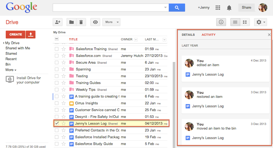 what u2019s new google drive  - jenny u0026 39 s weekly tip  28