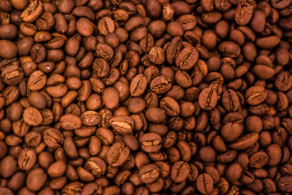 沒烘太深的咖啡豆