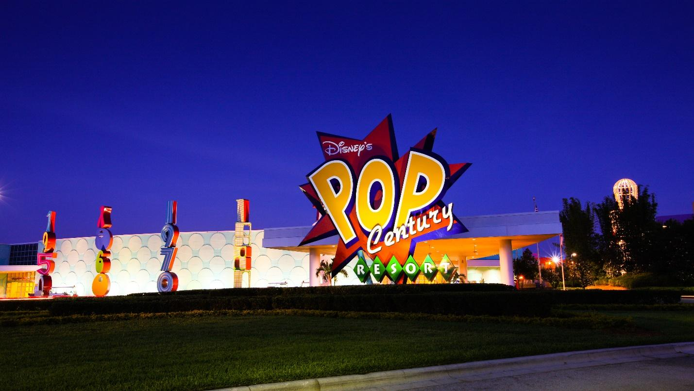 Disney's Pop Century Resort (Value Resort)