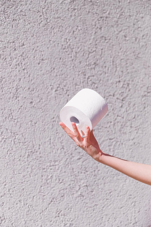 Điều quan trọng là chuẩn bị giấy vệ sinh