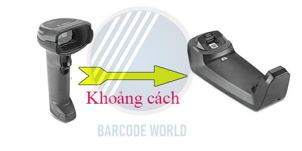 Khoảng cách làm việc của đầu đọc mã vạch Bluetooth