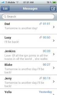 Free Download iPhone Messages apk