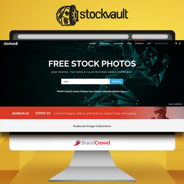 the-photo-features-a-monitor-displaying-the-landing-page-of-stockvault