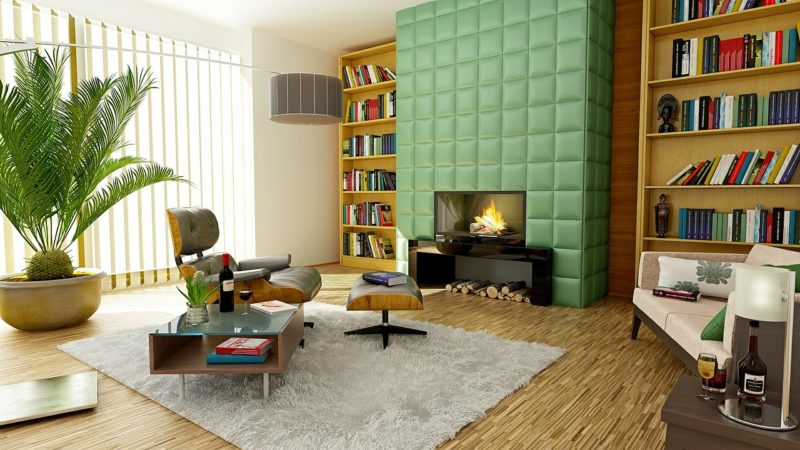 Elemen 'warna' pada desain interior - source: beautyharmonylife.com