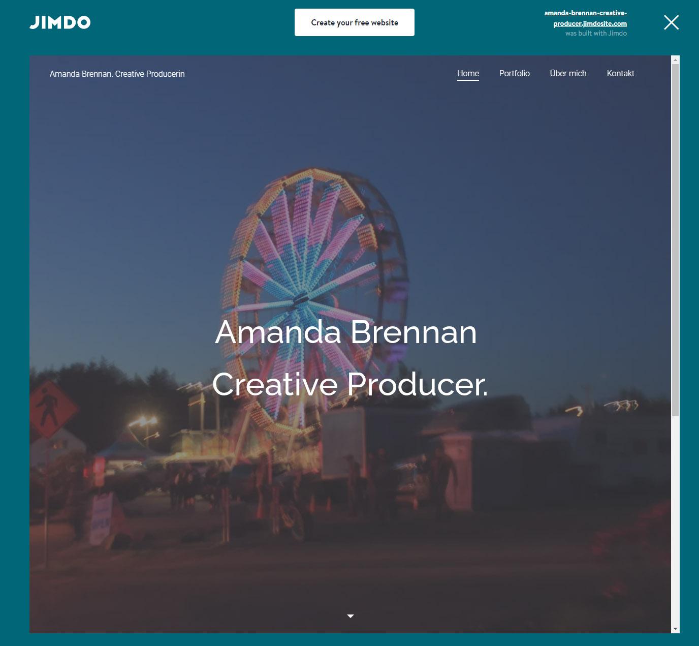 Amanda Brennan homepage
