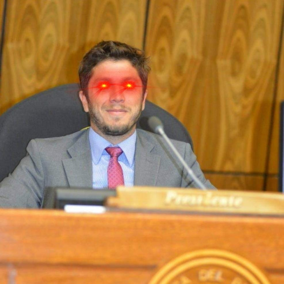Deputado paraguaio - Bitcoin