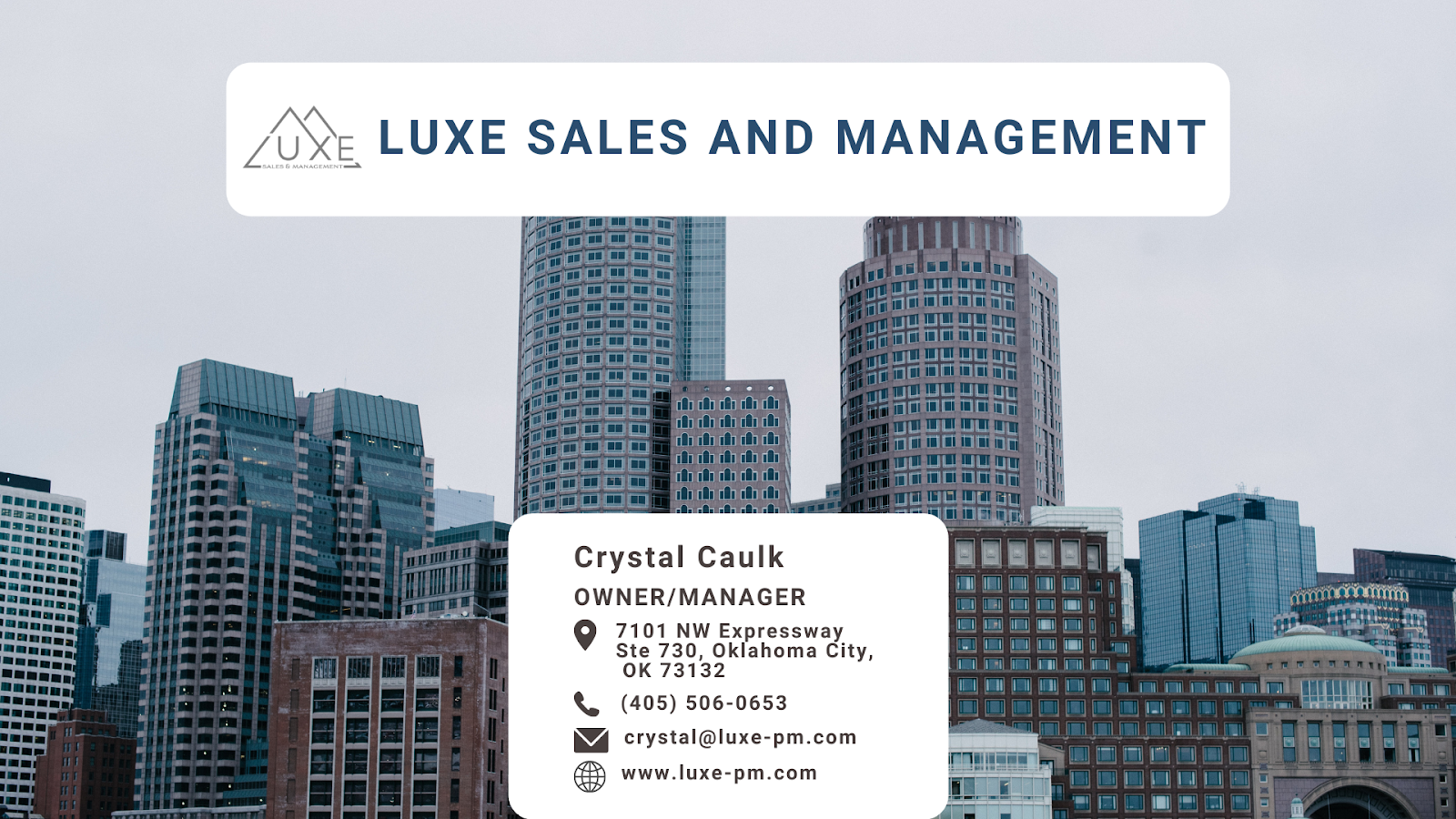 LUXE Sales and Management