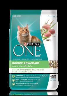 อาหารแมว Purina One เพียวริน่าวัน สูตร Indoor แมวเลี้ยงในบ้าน ขนาด 7 กก. -  Premiumpetmall
