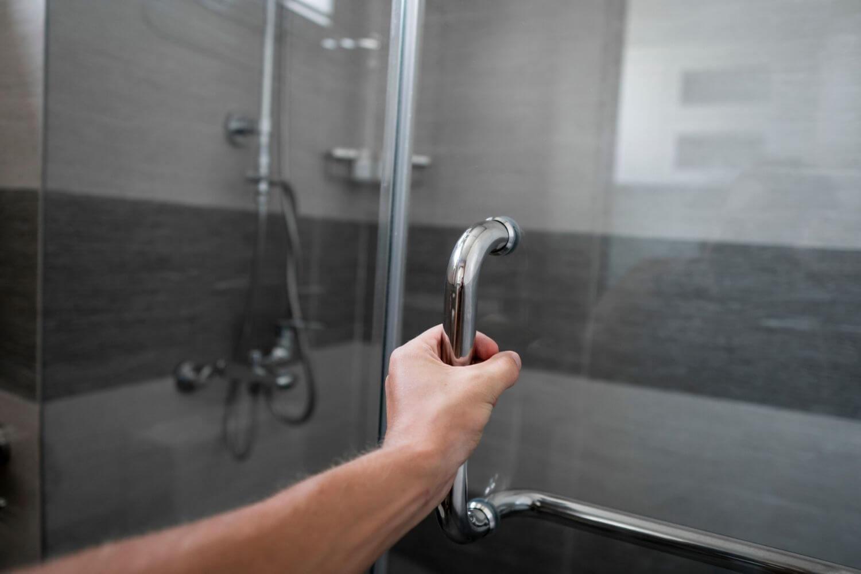 Frameless Door for Bathroom