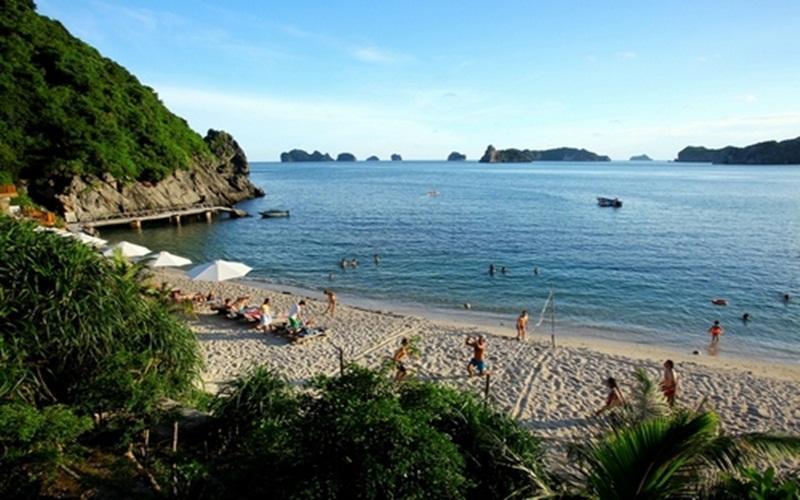 Alt: Bãi tắm Đảo Khỉ