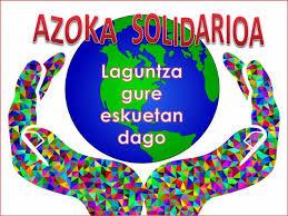 Resultado de imagen de azoka solidarioa aita larramendi ikastola