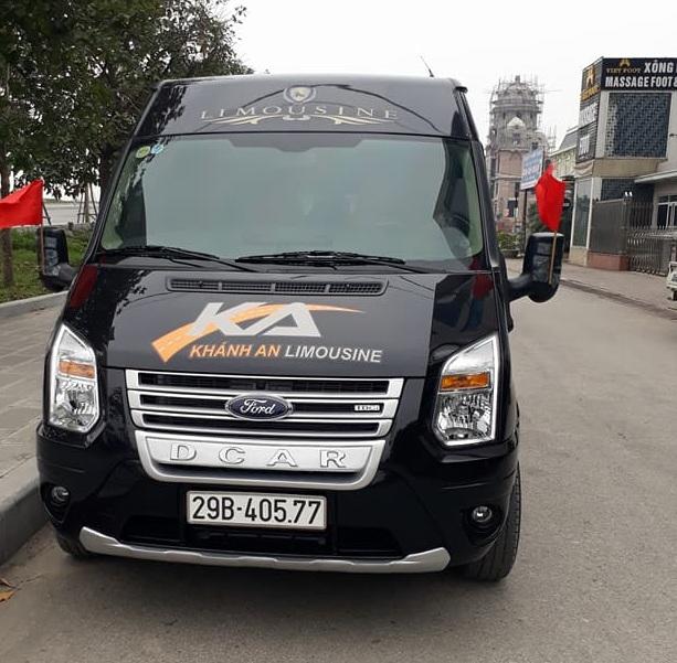 Xe Limousine chất lượng cao Khánh An từ Hà Nội đi Ninh Bình
