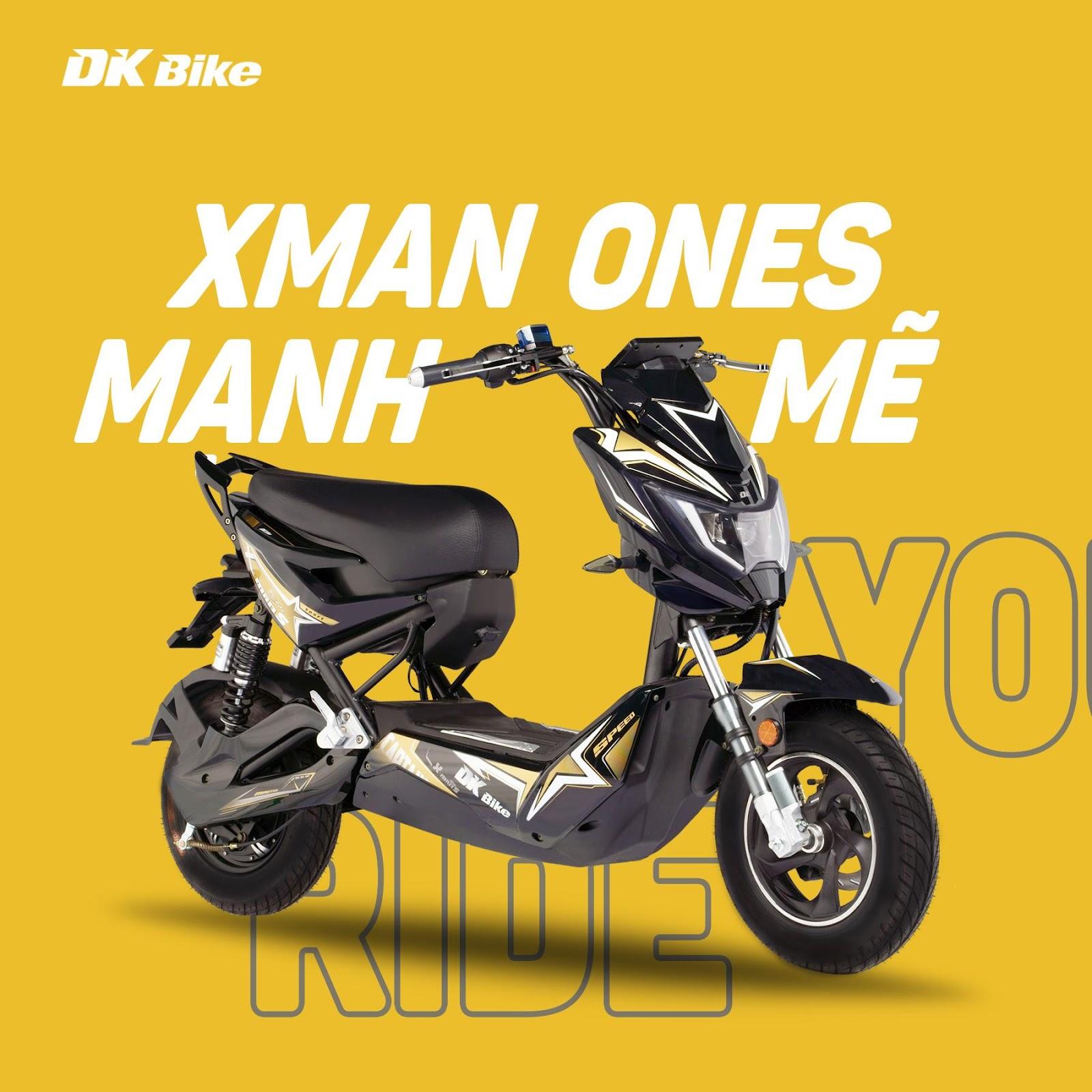 Tìm hiểu thêm về xe điện DK XMan