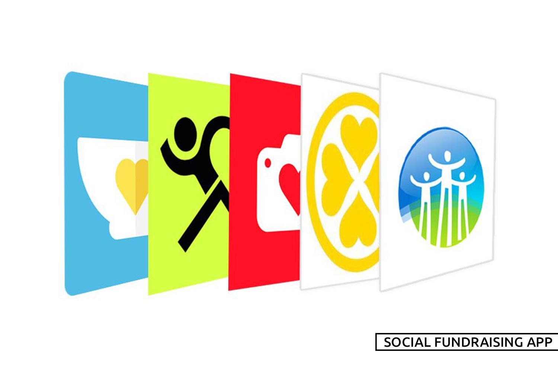 social fundraising app