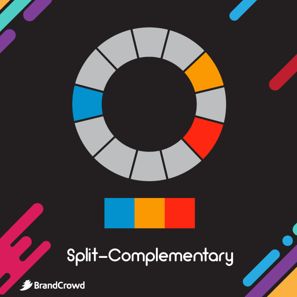 the-image-depicts-the-color-scheme-with-split-complementary-colors